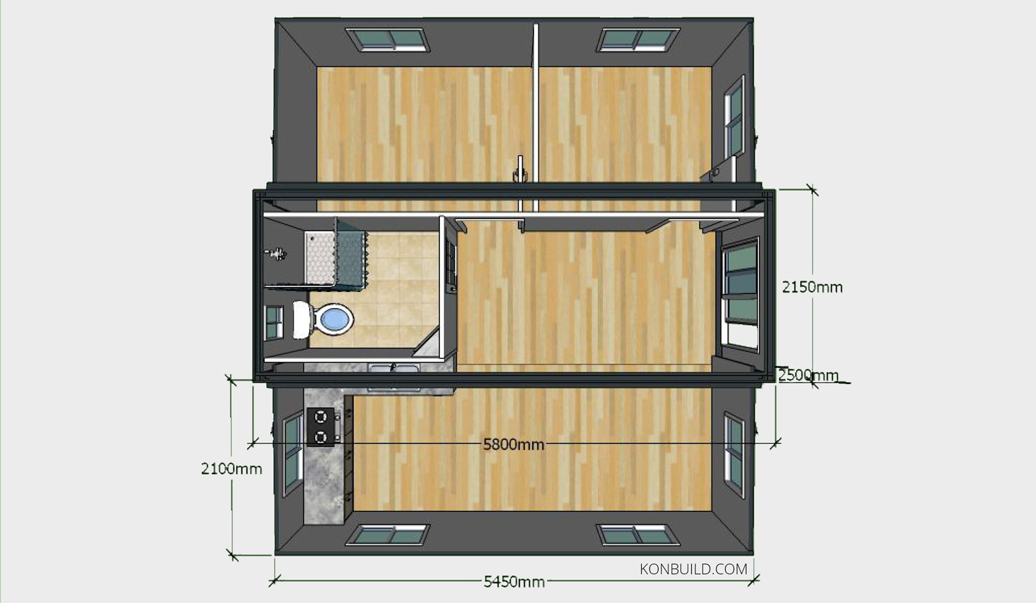 100 Steel Container House Plans In Shipping