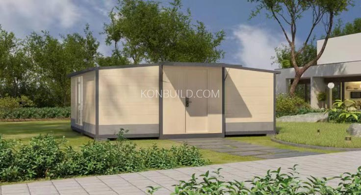 Oslo Lux cxpandable shipping container home.
